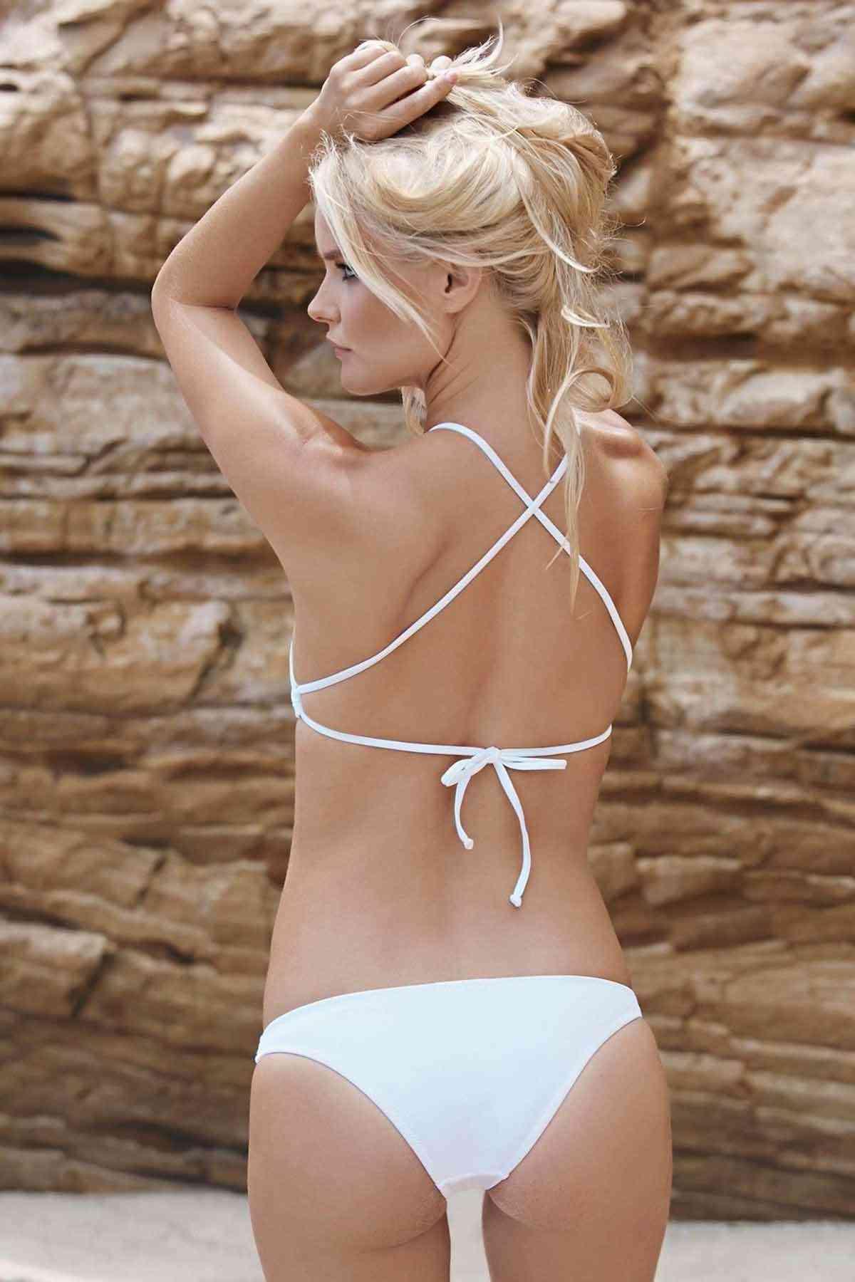 Angelsin Beyaz Tankini Bikini